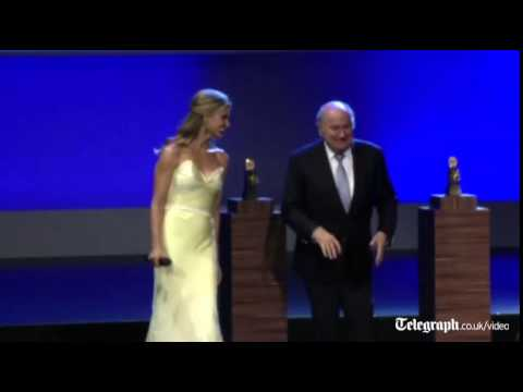 Sepp Blatter dances at Fifa Congress in Brazil