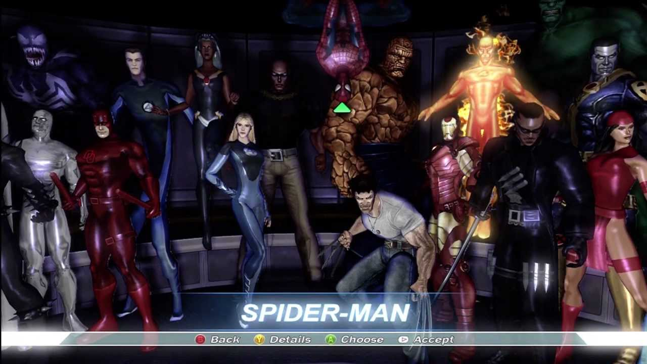 Costume Marvel Ultimate Alliance Marvel Ultimate Alliance