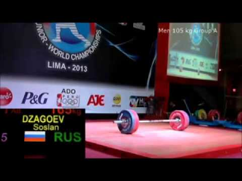 2013 Junior World Weightlifting 105 kg Snatch