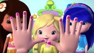 Charlotte aux Fraises 🍓 Quels beaux ongles! 🍓 Aventures à Fraisi-Paradis