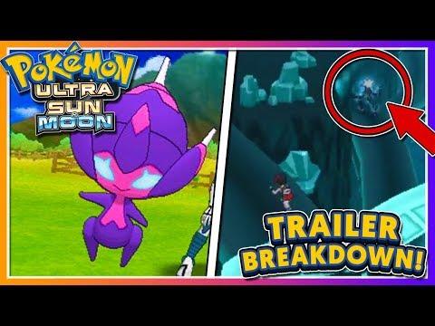 Pokémon Ultra Sun & Ultra Moon - TRAILER BREAKDOWN: NEW ULTRA BEAST + NEW ULTRA SPACE DETAILS!