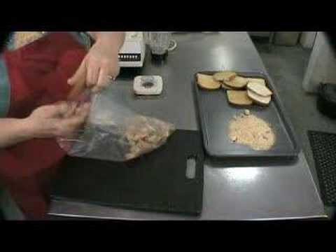 How to make bread crumbs.