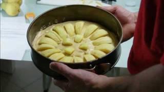 Apfelkuchen mit Stevia selber backen