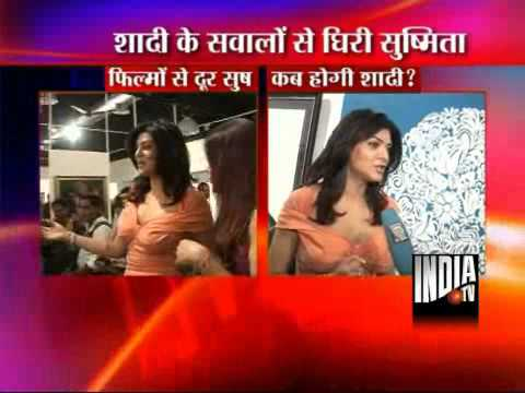 Sushmita Sen Talks About Her Marriage
