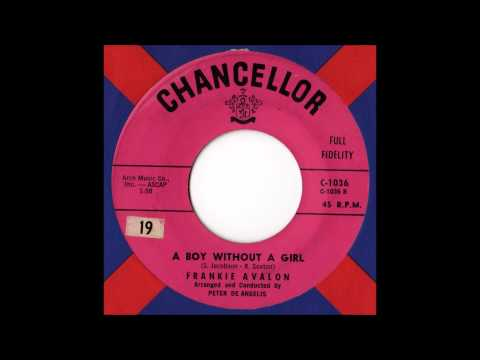 Frankie Avalon - Boy Without a Girl