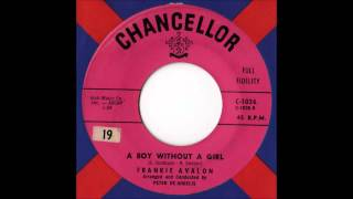 Watch Frankie Avalon A Boy Without A Girl video
