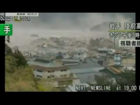 Tsunami In Japan - All Videos - 20 Live Videos From The First Week - Original Sound video