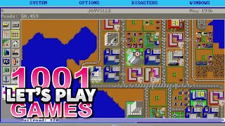 SimCity (DOS) - Let's Play 1001 Games - Episode 49