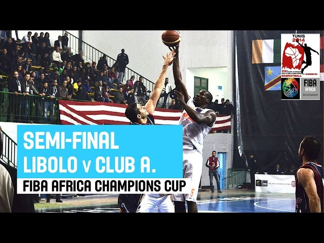 Libolo (ANG) v Club Africain (TUN) - Full Game - 2014 FIBA Africa Champions Cup for Men