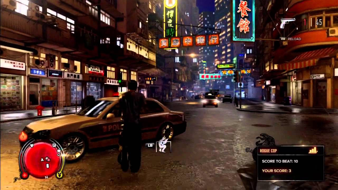How To Get Your Gun Out In Sleeping Dogs