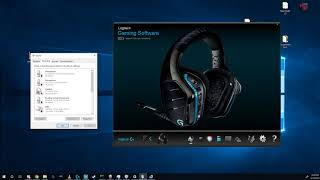 How to fix your G933 not showing up in Logitech Gaming Software