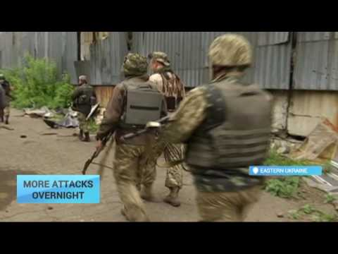 More Militant Attacks: Ukrainian troops under shelling in eastern regions