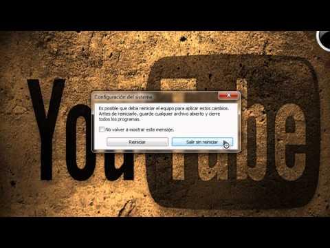 Acelerar el encendido y apagado del sistema Windows 7
