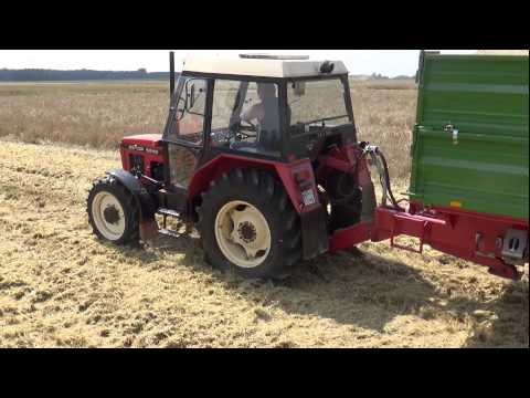 Gaz w podłogę - Zetor 5245 vs Pronar 10T {Engine Sound}