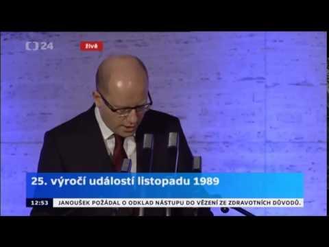 B. Sobotka k 25.výročí událostí listopadu 1989