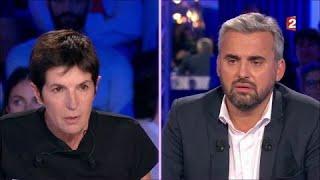Vif échange entre Christine Angot et Alexis Corbière au sujet de Dieudonné #ONPC