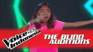 "Download Lagu Angela ""Bilang Saja"" I The Blind Auditions I The Voice Kids Indonesia GlobalTV 2016 Gratis STAFABAND"