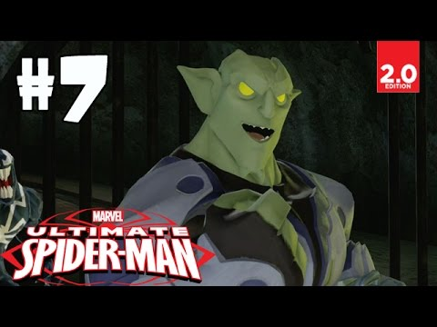 Ultimate Spider-man - Part 7 (sewer Search, Goblin's Lair, Earn Your Wings) Disney Infinity 2.0 video