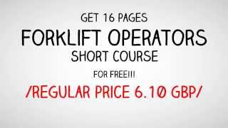 Forklift Operators Course