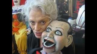 Aka judith roberts representing the scary closet dead silence puppets