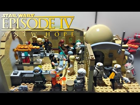 LEGO Star Wars - Mos Eisley Cantina MOC - Review