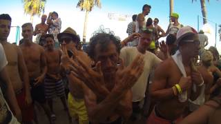 Bora-Bora Ibiza 2014 Crazy people & Dj Milana in the mix