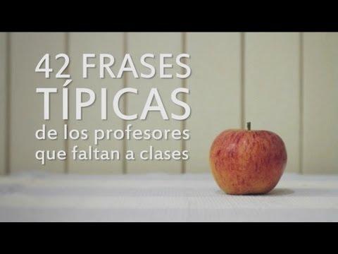 42 frases de profesores para faltar al trabajo