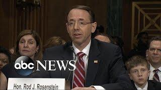 Did Rosenstein suggest to secretly record Trump?