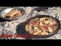 Camp Omelette cheekyricho cooking camp fire recipe episode 1,150