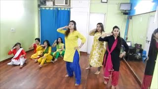 Nachde Ne Saare Dance Video l Baar Baar Dekho l Easy Dance Choreography l Wedding Style