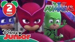 PJ Masks | Romeo's Robot Dinosaur 🦖 | Disney Junior UK