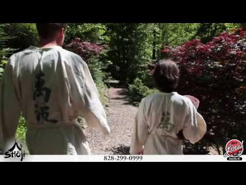 Shoji Retreat Asheville Japanese Style Outdoor Hot Tub and Massage Spa