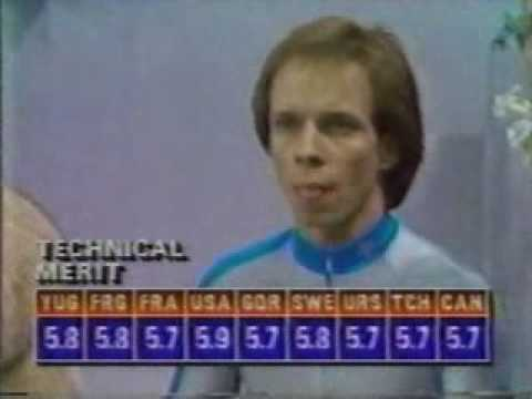 Scott Hamilton 1984 Olympics SP Video