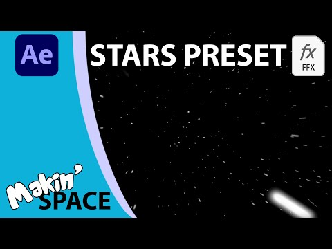 2D, 360 and 3D Stars in After Effects