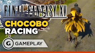 Chocobo Race - Final Fantasy XV Gameplay