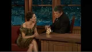 Stana Katic on Craig Ferguson 4.5.2009