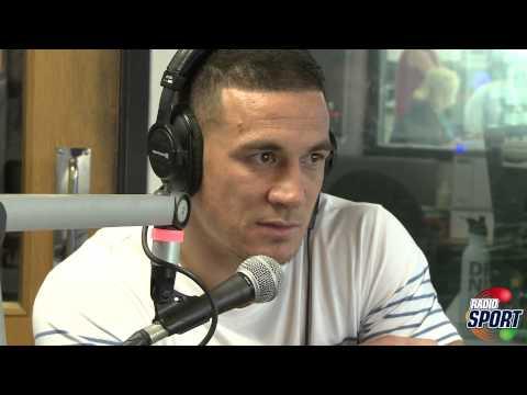 Radio Sport: Sonny Bill Williams in the studio (part 1)