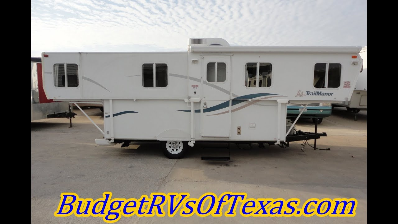 2006 Trail Manor Sleeps 6 Stores In Garage Perfect For