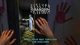Virtual Reality Grandma VR Horror Fleeing - Android Gameplay ᴴᴰ