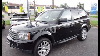 *SOLD* 2008 Land Rover Range Rover Sport HSE Walkaround, Start up, Tour and Overview