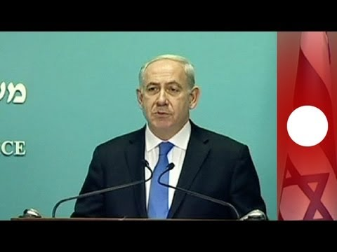 Israeli prime minister slams EU ban on funding for projects in settlements.