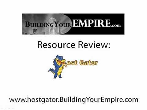 Hostgator Review - Building Your Empire Reviews The Hostgator Web Hosting Company