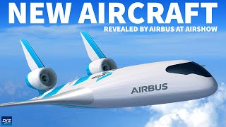 Airbus Reveals New Concept Aircraft
