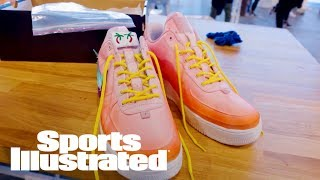 Nike's 'Maker Of The Game' Pop-Up Store Custom Sneakers | What Are Those? | Sports Illustrated