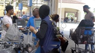 SURPRISING STRANGERS BY PAYING FOR THEIR GROCERIES!!! SOMETHING AMAZING HAPPENED!!! (MUST WATCH)