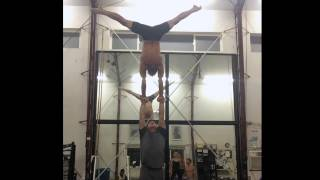 Tari Mannello Sports Acrobat: High hand to hand, inlocate and more