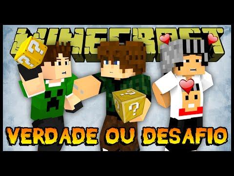 Verdade ou Desafio - Spleef Hardcore da Sorte (Minecraft Mini-Games com Lucky Block)