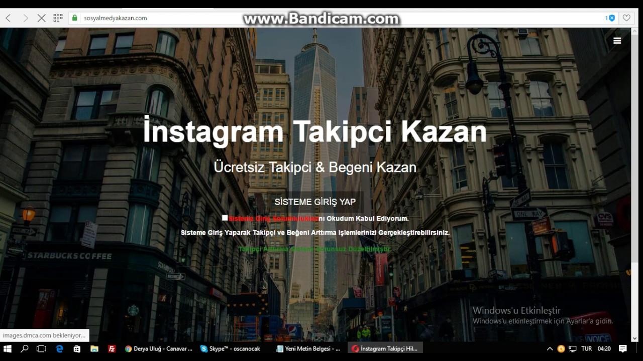 instagram takipci hilesi - YouTube