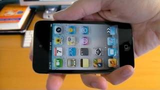 Unboxing: iPod touch 4G (8GB Black)