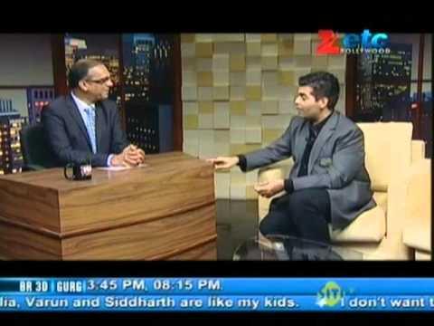 Karan Johar with Komal Nahta